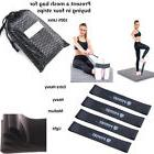 Gym Power RESISTANCE BAND LOOP Exercise Yoga Plates Fitness