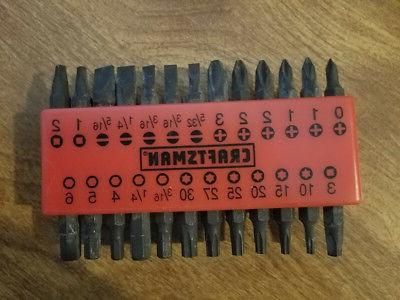 NEW MAGNETIC ANGLE SCREWDRIVER BIT SET 47473