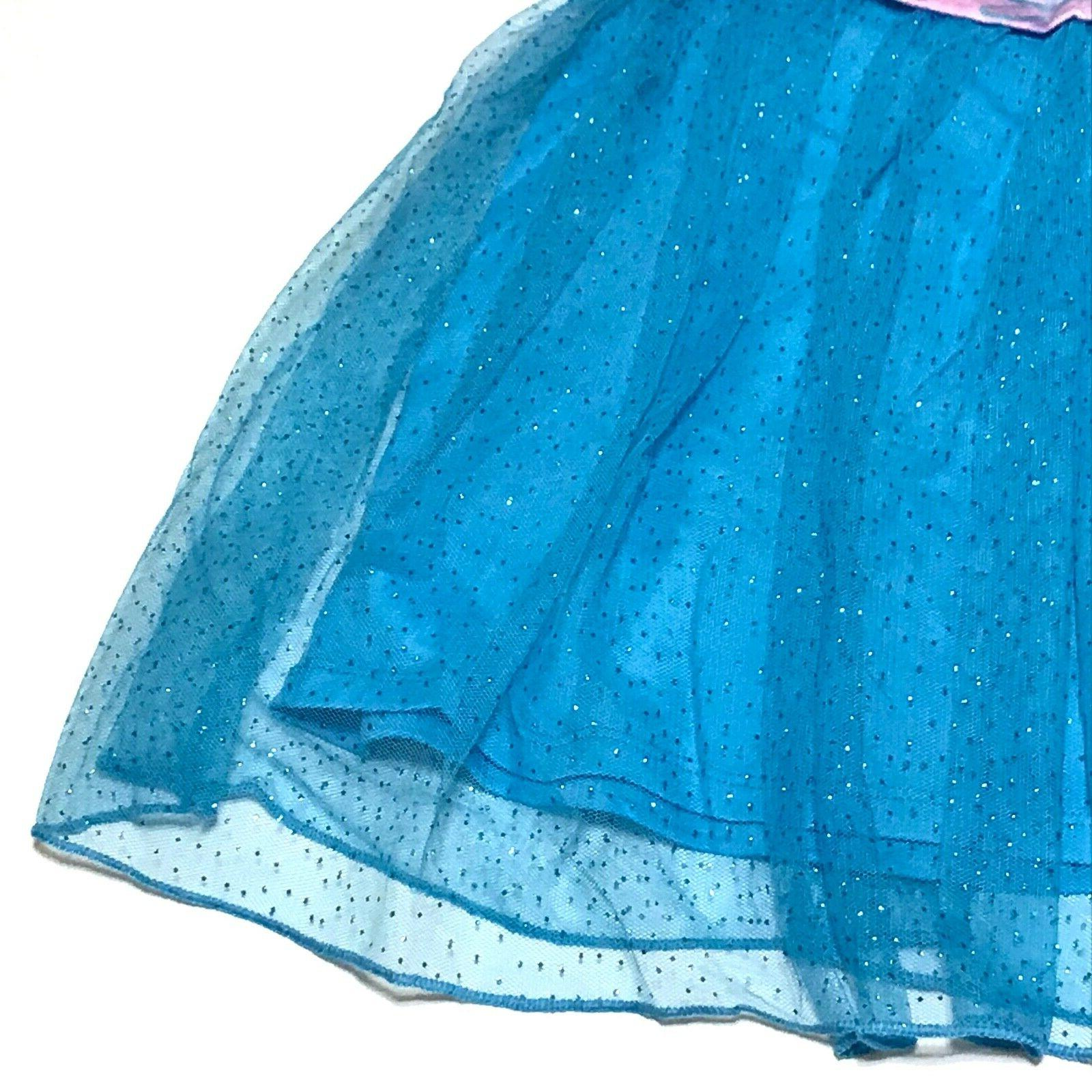 Blue Tulle Layered Skirt Size L XL 10 12 NWT