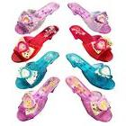 Disney Princess Shoe Set -- 4 Deluxe Dress Up Pairs for Girl