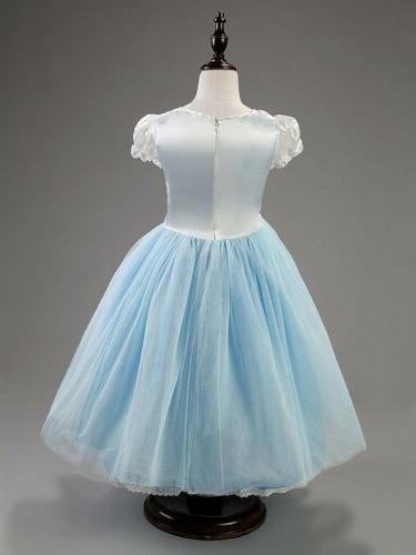 Toddle Kids Cinderella Princess Cosplay Party Fancy