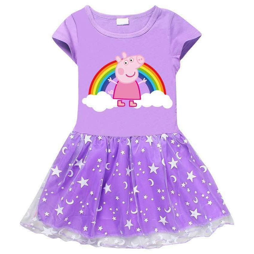 toddler and little girls peppa pig