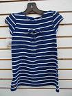 Toddler Girls Nautica $34.50 Navy w/ White Scallop Stripes D