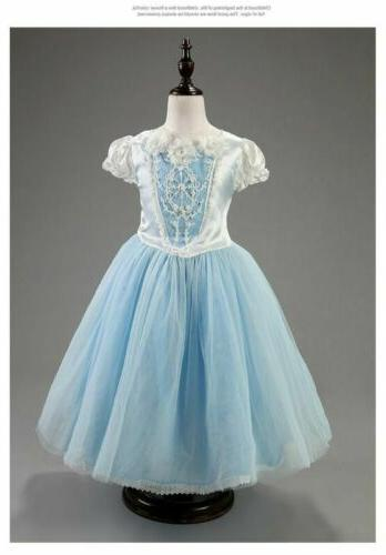 Toddler Girls Dresses Costume Party Dress Cape