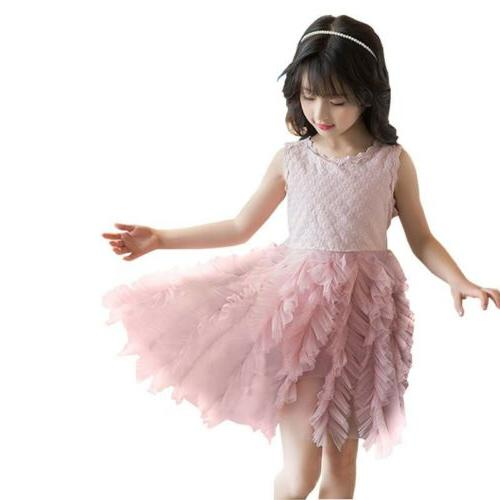US Fancy Girl Tutu Party Dress