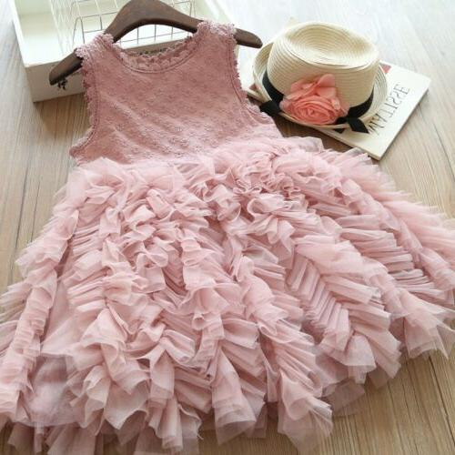 us fancy kids baby girl flower dress