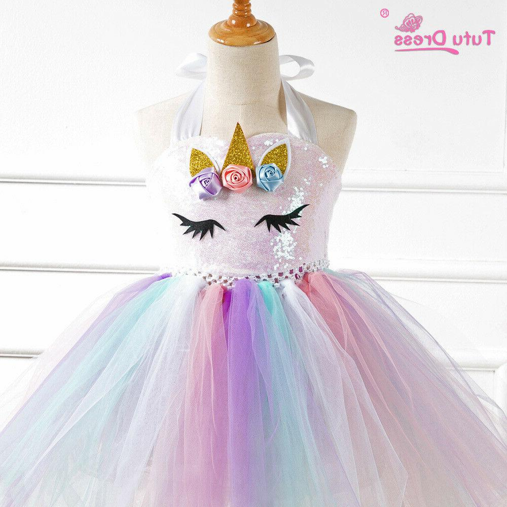 US Unicorn Tutu Girls Party ZG9