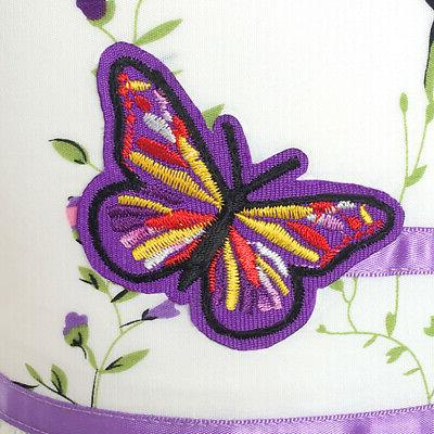 US STOCK! Purple Butterfly Party Size