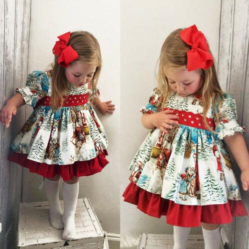 USA Baby Girl Flared Dress