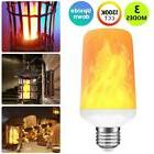 USA FREE Shipping E27 LED Burning Light Flicker Flame Lamp B