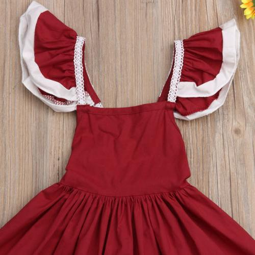 USA Kids Bow Wedding Formal