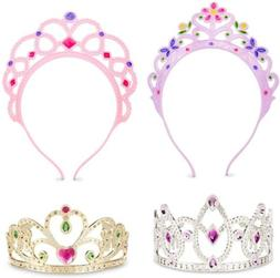 Melissa & Doug Dress Up Tiaras Princess Girl Toy Kid Jewel P