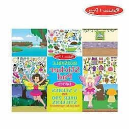 Melissa & Doug Reusable Sticker Pad: Fairies