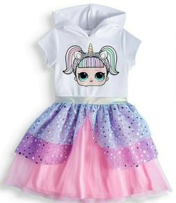 New LOL Surprise girls dress Cosplay role play costume tutu