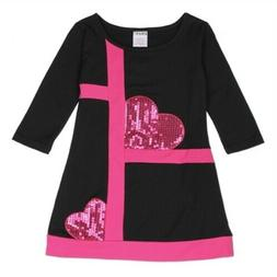 NEW GIRLS FASHION HEART SHAPE DRESS - SIZE 5/6, 6X