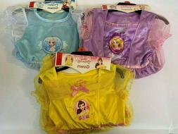 NEW Disney Princess Girls Sleepwear Dress Gown - VARIETY
