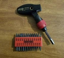 NEW CRAFTSMAN PROFESSIONAL RATCHETING MAGNETIC ANGLE SCREWDR