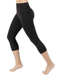 ODODOS Power Flex High-Waist Yoga Capris Tummy Control Worko