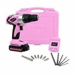 be54131df4de01 Editorial Pick Pink Power PP181LI 18V Cordless Lithium Ion Drill Kit for Wo