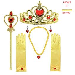 MISS FANTASY Princess Dress up Accessories Cosplay Jewelry S