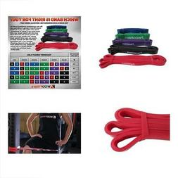 WODFitters Stretch Resistance Pull Up Assist Band with eGuid