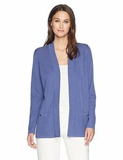 Anne Klein Women's 2 Pocket Malibu Cardigan - Choose SZ/colo