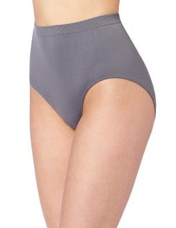 Bali Women's Comfort Revolution Seamless Brief Panty, Excali