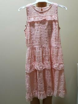 Youth Girl Disney Princess Dress in Peach US Size 14/16 New